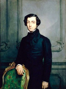 Alexis de Tocqueville courtesy of Wikipedia.
