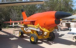 Target drone courtesy of Wikipedia.