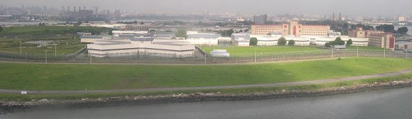 Rikers Island. Image: Wikipedia Commons.