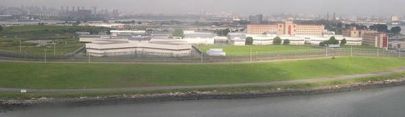 Rikers Island. Image: Wikipedia Commons.