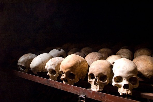 Nyamata Genocide Memorial, Rwanda. IMAGE: Wikipedia Commons.