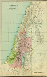 Palestine_1020BC_Smith_1915